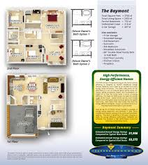 Color Floor Plan Olthof Homes House Plans U0026 Floor Plans For Baymont In North