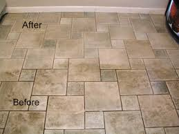 how to clean tile floors with vinegar home design image