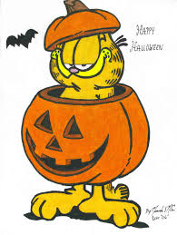 halloweenclipart garfield halloween clipart clipartxtras