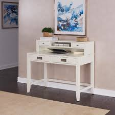 south shore axess pure white desk with hutch 7250076c the home depot