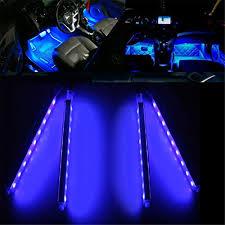 Car Led Interior Lights Possbay Car Interior Lights Dash Floor Decor Decorations Auto 12v