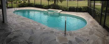 Patio Paint Concrete by Pool Besf Of Ideas And Patio Design With Semi Inground Pools