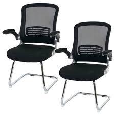 fauteuil bureau sans accoudoir chaise bureau sans accoudoir lot de 2 fauteuils chaises pour