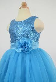 amazon com bow dream flower u0027s dress sequins tulle clothing