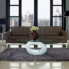 Glass Table For Living Room Design Ideas Coffee Table For Modern Living Room White Glass