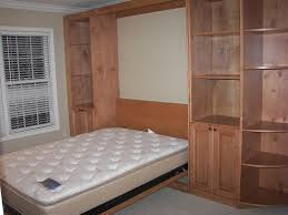 Beds With Bookshelves by Bedroom White Wooden Costco Wall Beds With Light And Bookshelves