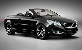 black convertible cars limited edition 2012 volvo c70 inscription to debut at l a 500