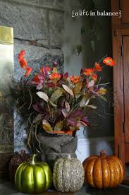 fall decorating on a dime in my home