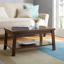 Walmart Living Room Tables Living Room Mainstays Logan Coffee Table Finishes