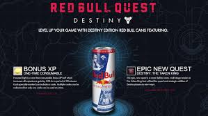 red bull light up sign destiny announces ill timed red bull exclusive quest for the taken