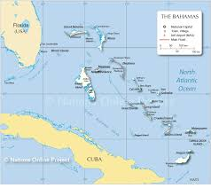 Map Of Caribbean Islands And South America by Map Of The Bahamas Nations Online Project