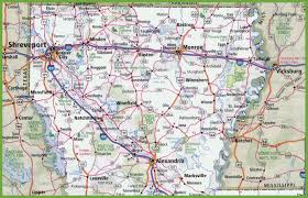 Map Of Virginia Cities Map Of Northern Louisiana