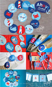 it s a boy decorations ahoy it s a boy nautical baby shower