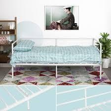 divanetto letto divano letto in ferro 200x90 divanetto letto bianco ospiti