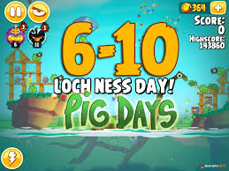 angry birds seasons pig level 6 10 walkthrough loch