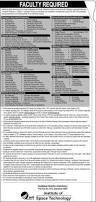 institute of space technology ist islamabad jobs 2017 teaching
