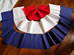 How To Make Curtain Swags How To Sew Patriotic Red White And Blue Bunting Hgtv