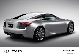 lexus uk media lf a 2007 concept toyota uk media site