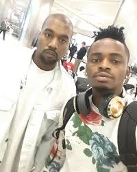 diamond platnumz photo diamond platnumz with kanye west in los angels
