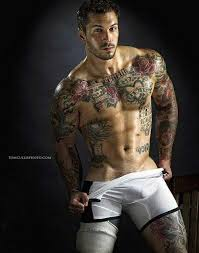 Male Flower Tattoos - flower tattoo images u0026 designs