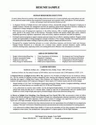 Impressive Objective For Resume Impressive Inspiration Sample Human Resources Resume 6 Human