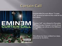 Curtain Call Album Mitchell Johnson Music Eminem Was Born Marshall Bruce Mather U0027s Iii