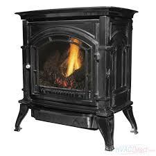 ashley hearth products 31 000 btu vent free propane stove black