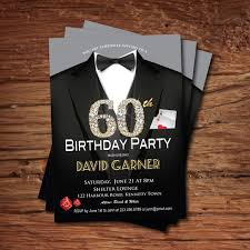 60th birthday party invitation ideas tags the perfect 60th