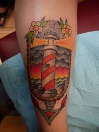 the 25 best traditional lighthouse tattoo ideas on pinterest