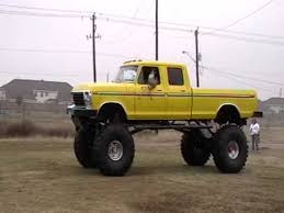 pics of lifted ford trucks ford truck lifted to the sky