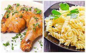 cuisiner cuisse de poulet au four cuisses de poulet au four et pâtes wecook