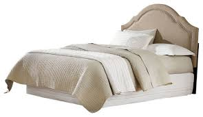 standard furniture simplicity cathedral upholstered headboard in