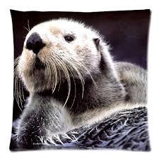 taie d oreiller pour canapé coussin décoratif couverture mer loutre throw taie d oreiller pour