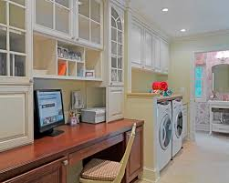 home office laundry room houzz