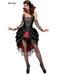 titivate women spider seductress vampire fancy dress