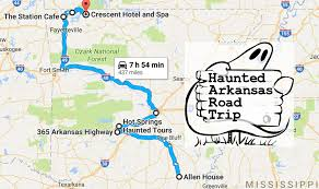 haunted road trip through the scariest places in arkansas