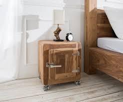 Ikea Schlafzimmer Nachttisch Nachtkonsole Zakarya Shesham Natur 51x58 Cm 1 Tür Nachttisch