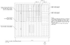 Steel Floor Framing Plan Beam Replacement And Sistering Building U0026 Construction Diy
