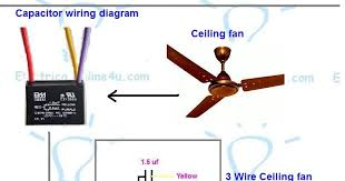 how to test a 5 wire ceiling fan capacitor contemporary 3 wiring