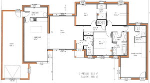 plan maison contemporaine plain pied 3 chambres cuisine images about plans maisons on small house plans plan