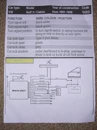 vw polo central locking wiring diagram volkswagen wenkm com