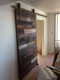 eccentric home decor exotic dark tone pallet wood indoor barn doors for bedroom ideas