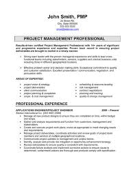 Resume Template Project Manager Download Mechanical Project Engineer Sample Resume