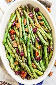 roasted green beans with balsamic garlic and lemon pepper