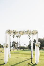 wedding arches and canopies outdoor wedding canopy ideas