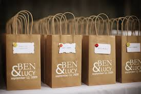 personalized wedding gift bags wedding favor gift bags wedding gallery