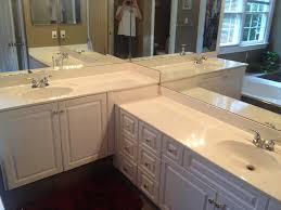 Refinish Vanity Cabinet Countertop Refinishing Raleigh Nc Bathroom Counters Kitchen