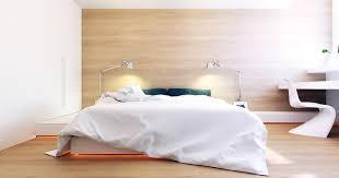 mur de chambre en bois chambre bois clair avec contemporaine avec un mur recouvert de bois