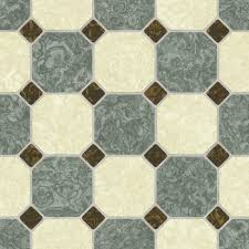green and earth tone ceramic tile bathroom floor seamless