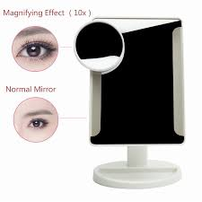 adjustable 36 led light cosmetic square vanity desk stand makeup